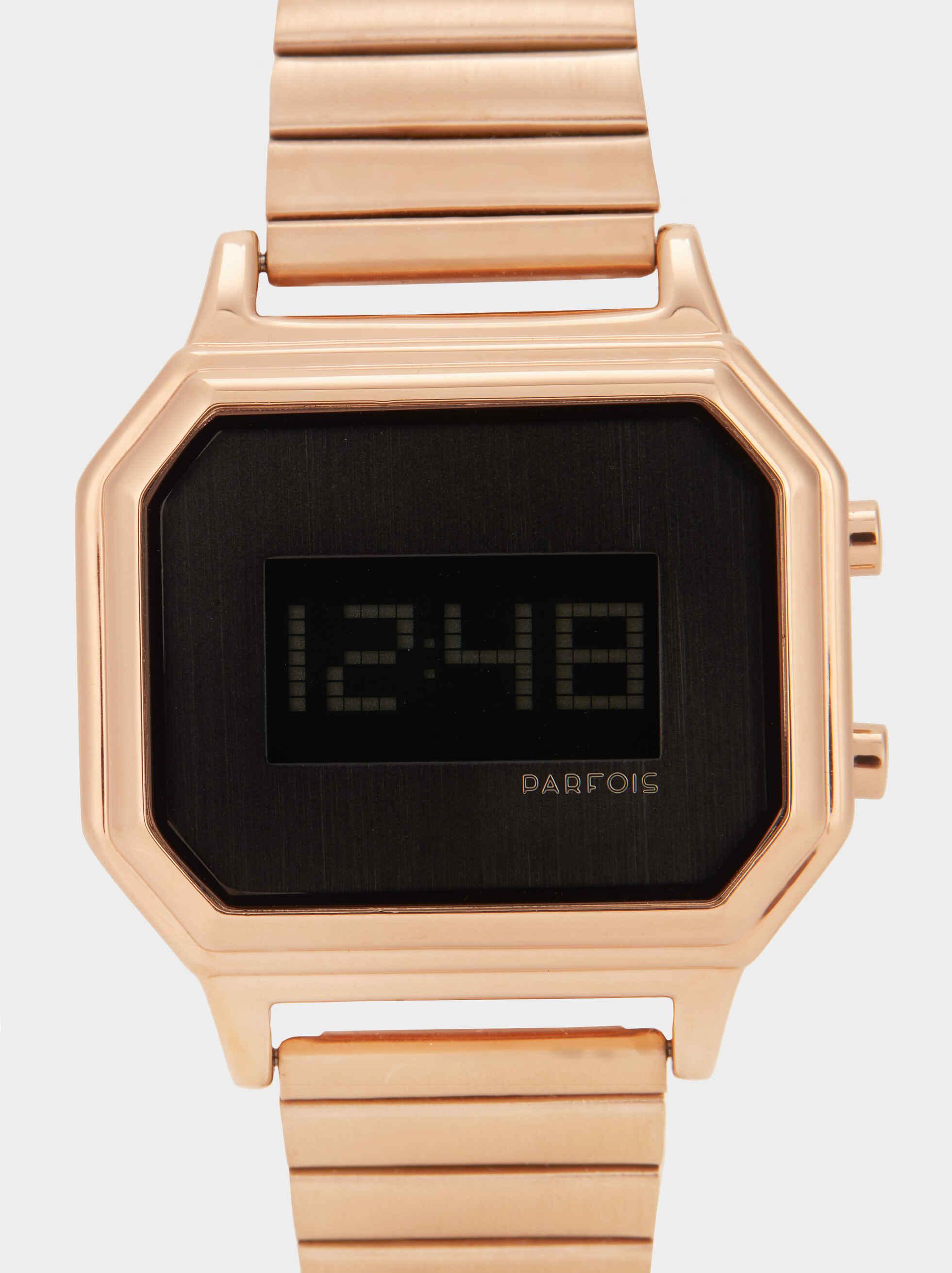 Reloj Digital, Naranja, hi-res