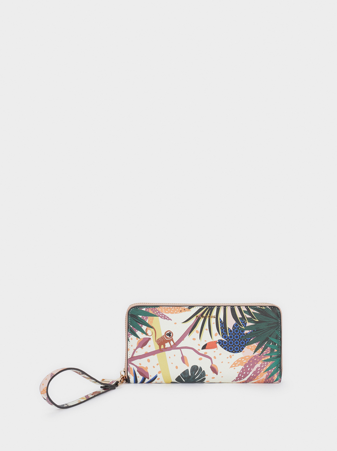 Purse With Handle, Green, hi-res