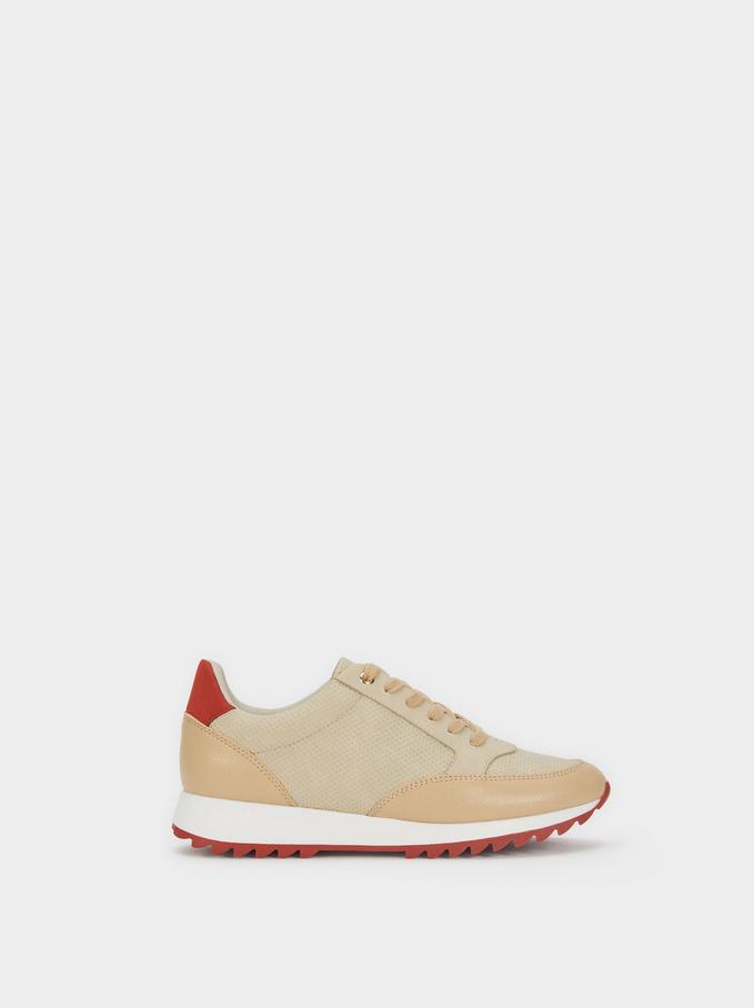 Contrast Sneakers, , hi-res