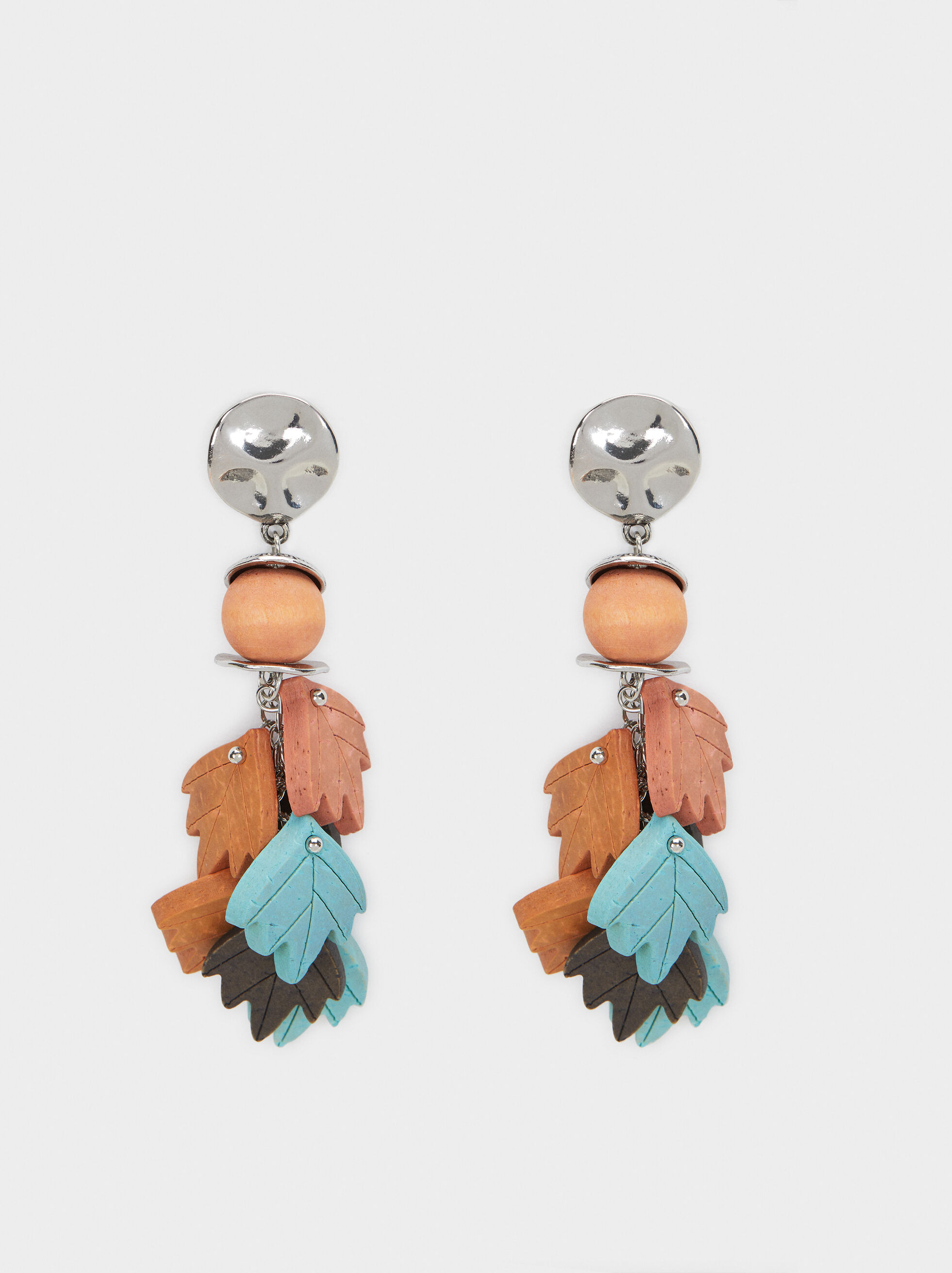 Star Valley Long Earrings, Multicolor, hi-res