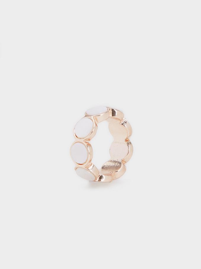 Pink Desert Ring, Orange, hi-res
