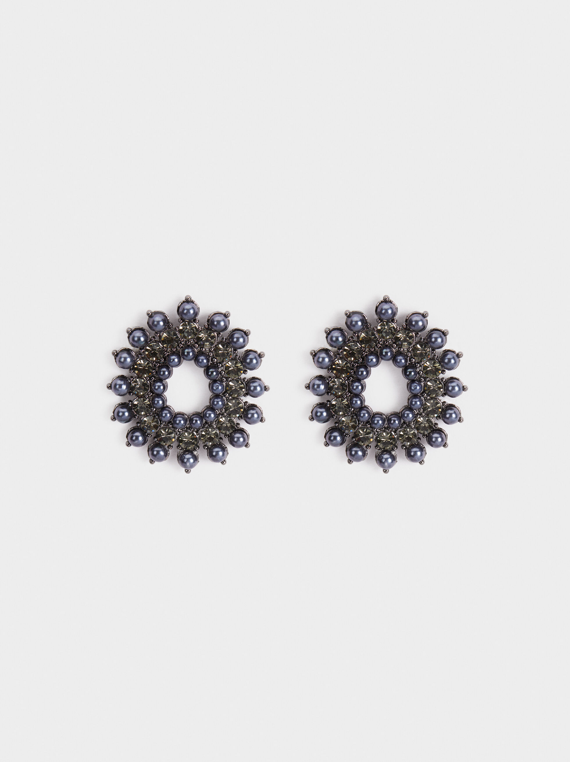 Party Medium Earrings, Blue, hi-res