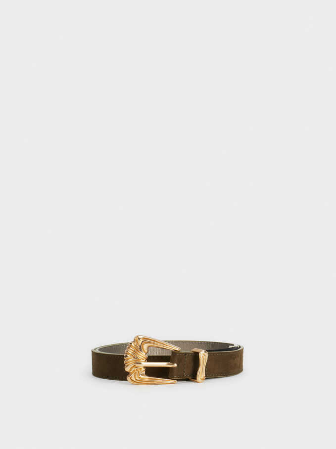 Basic Belt, Green, hi-res