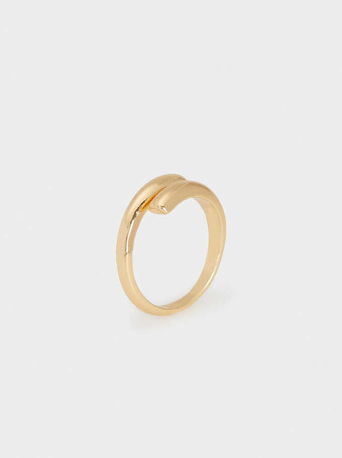 Gold Wedding Ring, Golden, hi-res