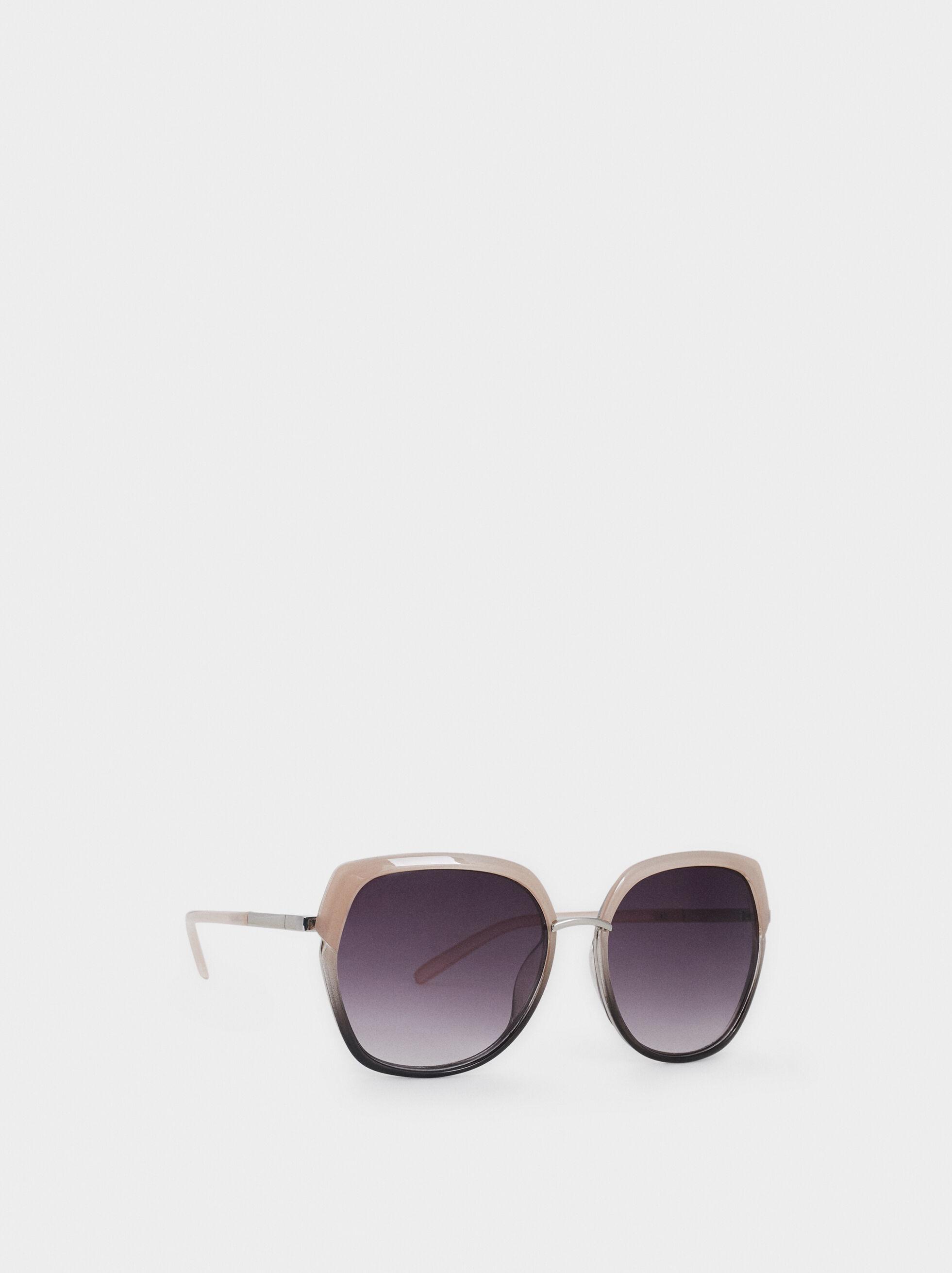 Resin Sunglasses, Pink, hi-res