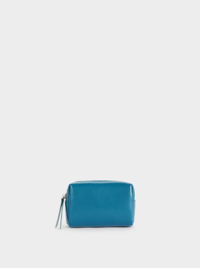 Multi-Purpose Bag With Zip Fastening, Blue, hi-res