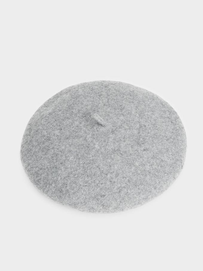 Boina De Lã, Cinzento, hi-res