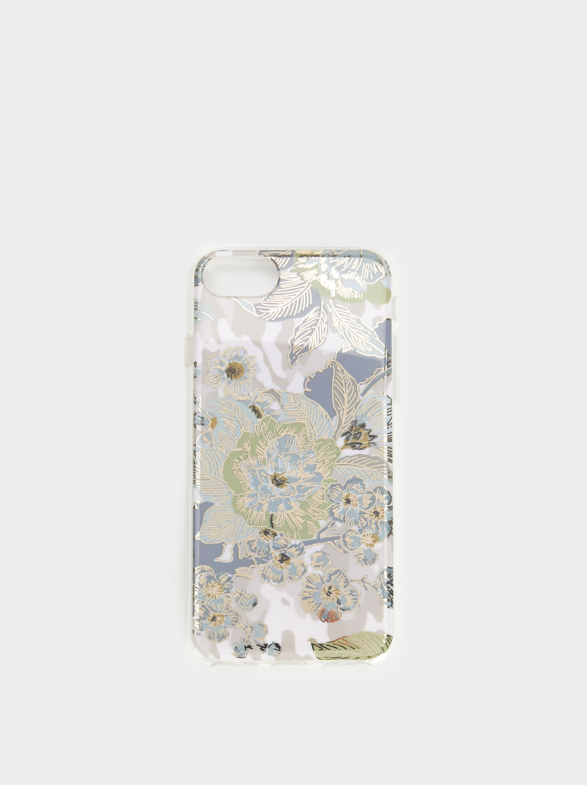 Floral Print Iphone 6/7/8 Case, , hi-res