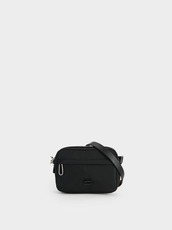 Nylon Crossbody Bag, , hi-res