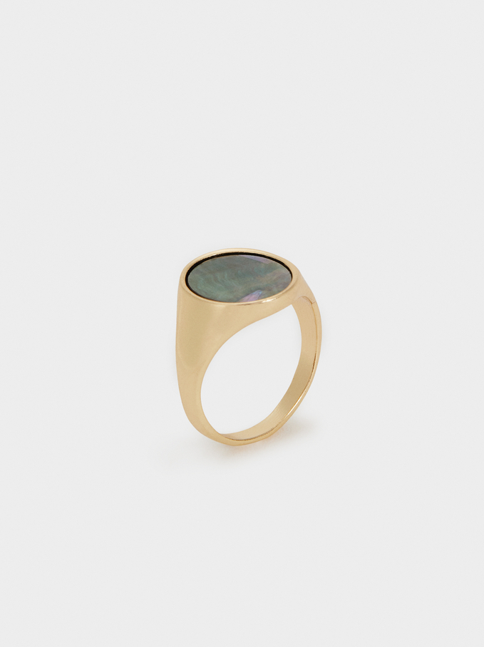 Blog Ring, Golden, hi-res