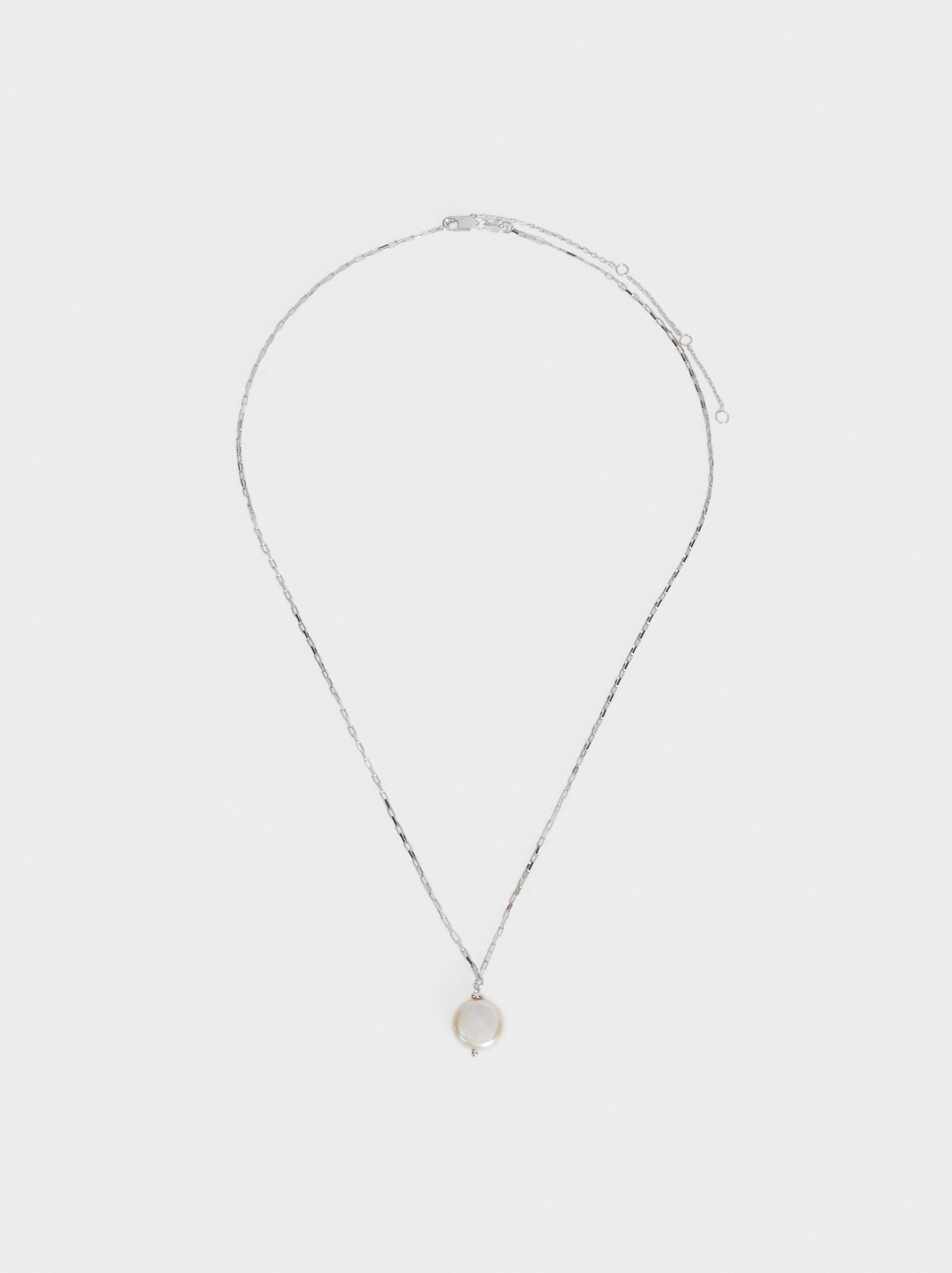 Collier Ras-De-Cou En Argent 925 Perles, , hi-res