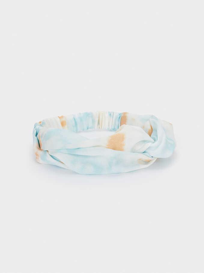 Tie-Dye Turban-Style Headband, Multicolor, hi-res