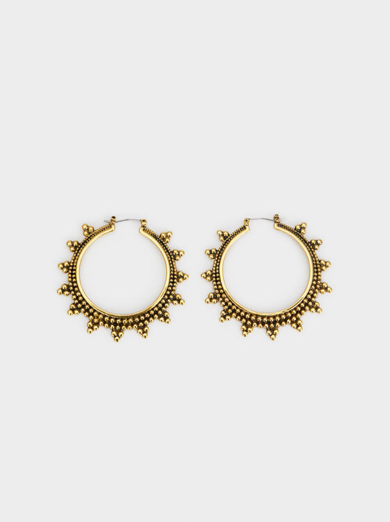 Karpa Large Hoop Earrings, , hi-res