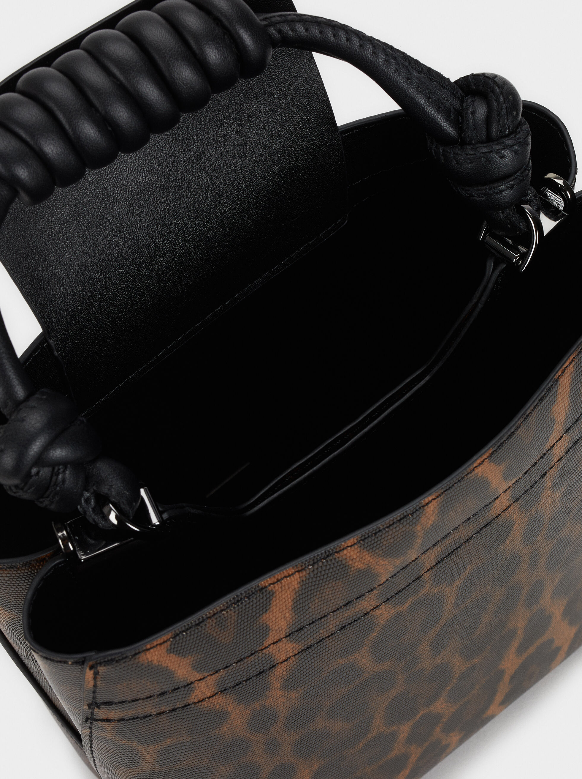 Jelly Bucket Handbag, Black, hi-res