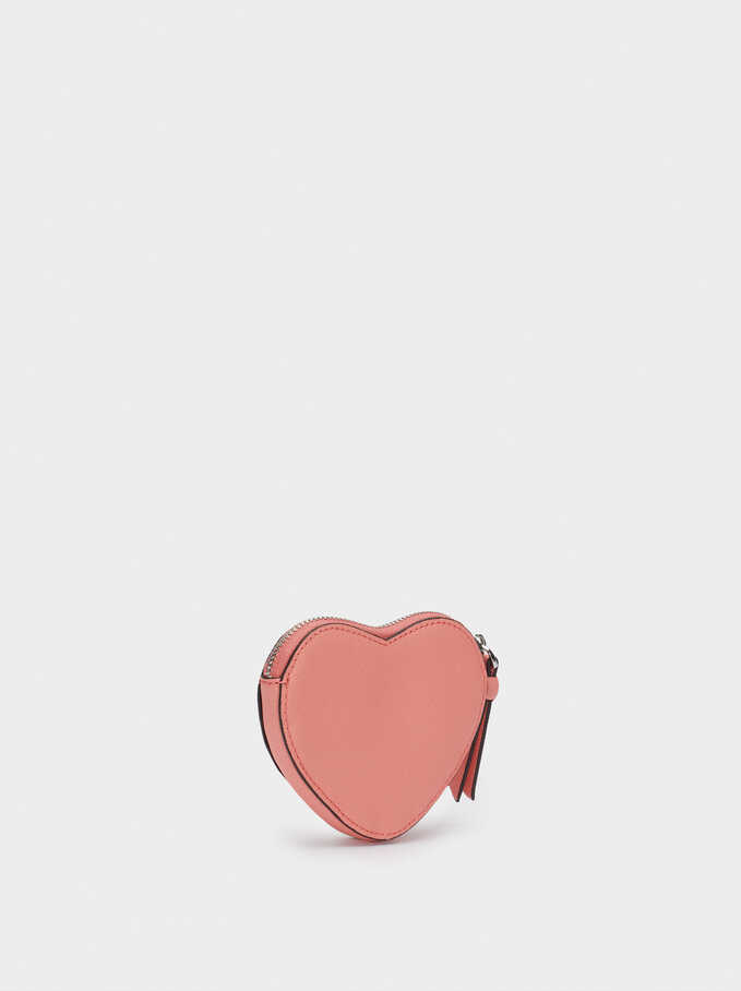 Heart Purse, Pink, hi-res