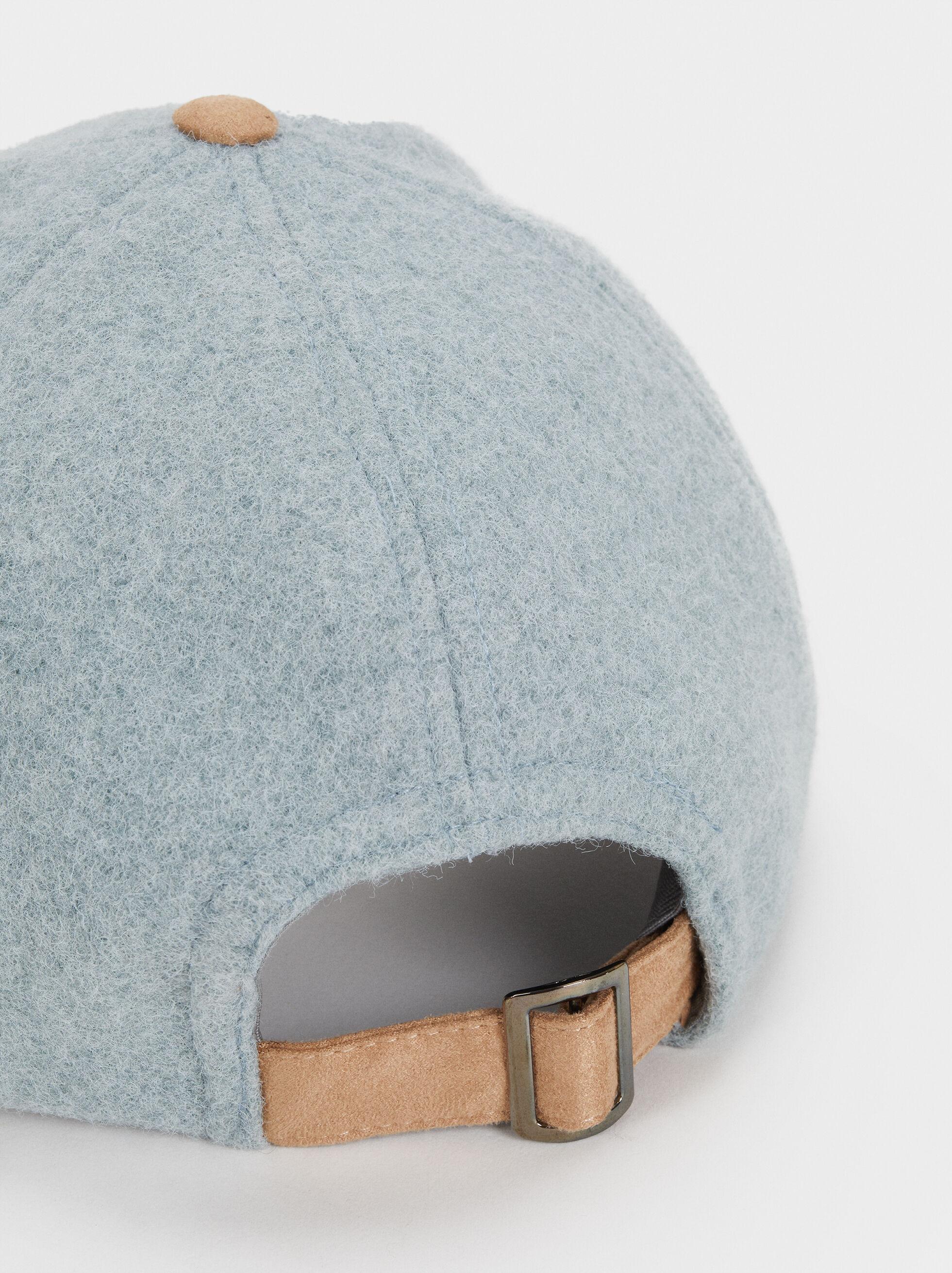 Plain Cap, Grey, hi-res
