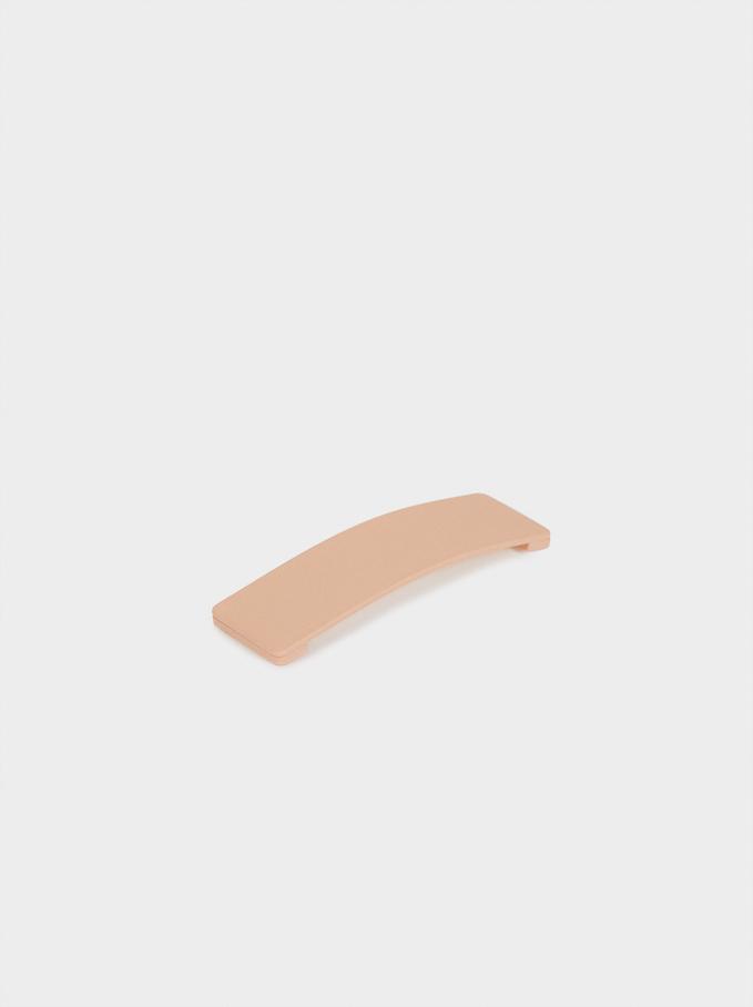 Plain Shape Clip, Beige, hi-res