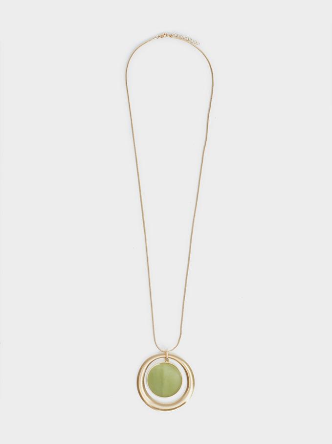 Bubbles Long Necklace, Pink, hi-res