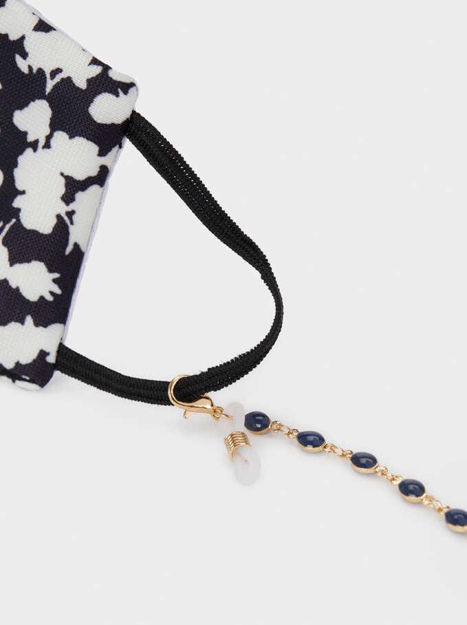 Cadena Para Mascarilla Y Gafas, Azul Marino, hi-res