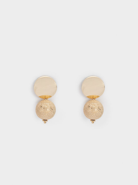 Basic Medium Earrings, , hi-res