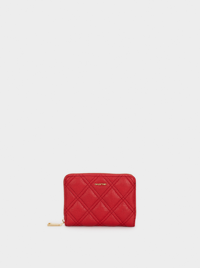 We Are Love Small Purse, Red, hi-res