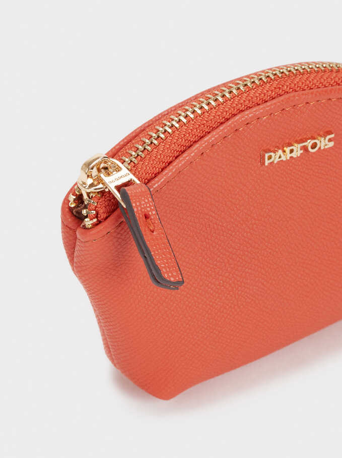 Basic Small Purse, Orange, hi-res