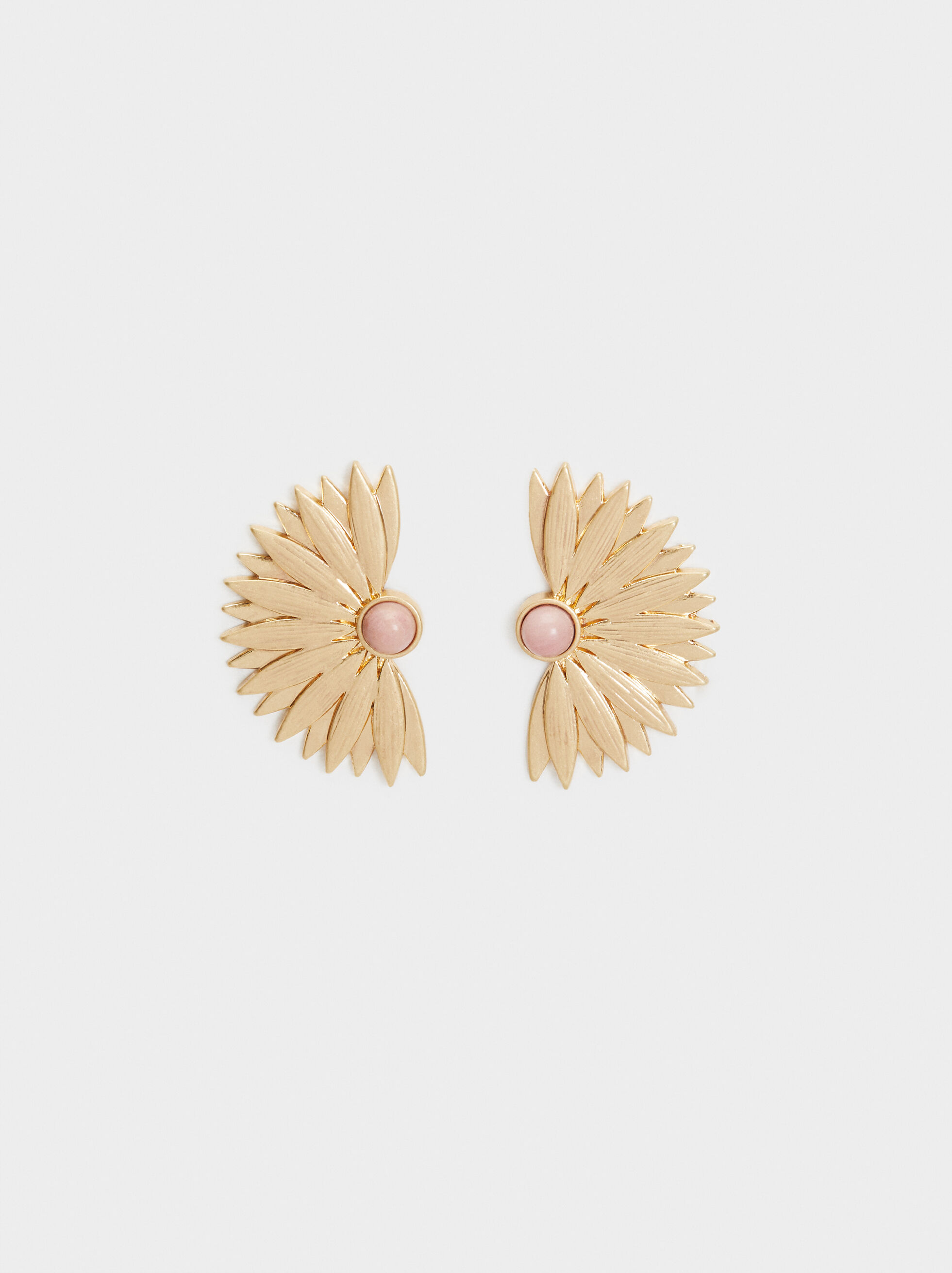 Sea Breeze Stone Stud Earrings, , hi-res