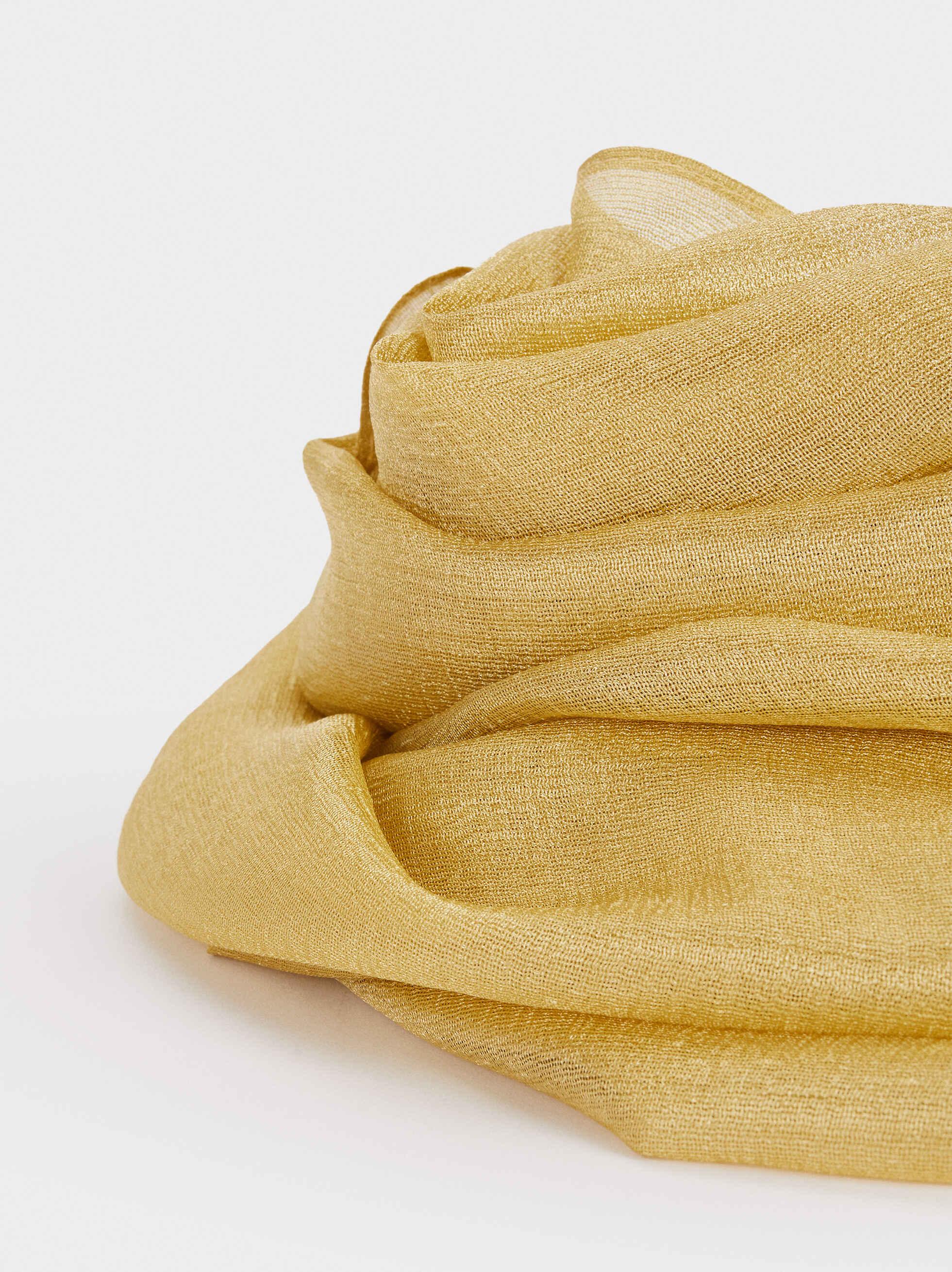 Pañuelo De Ceremonia Liso, Amarillo, hi-res