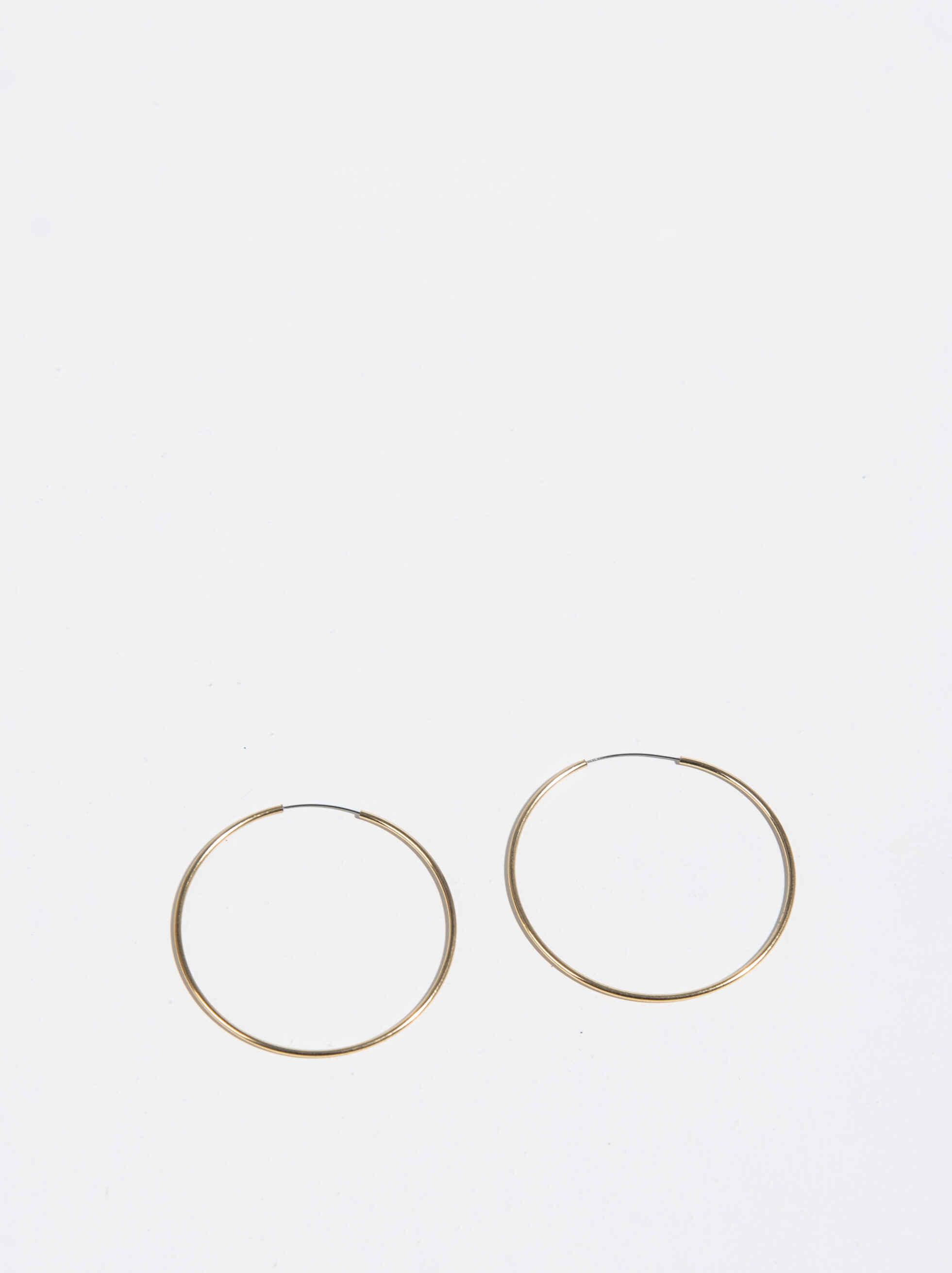 Basic Grandes Hoop-Earrings, , hi-res