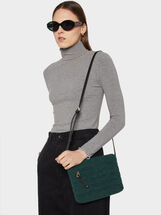 Crossbody Bag With Outer Pocket, , hi-res