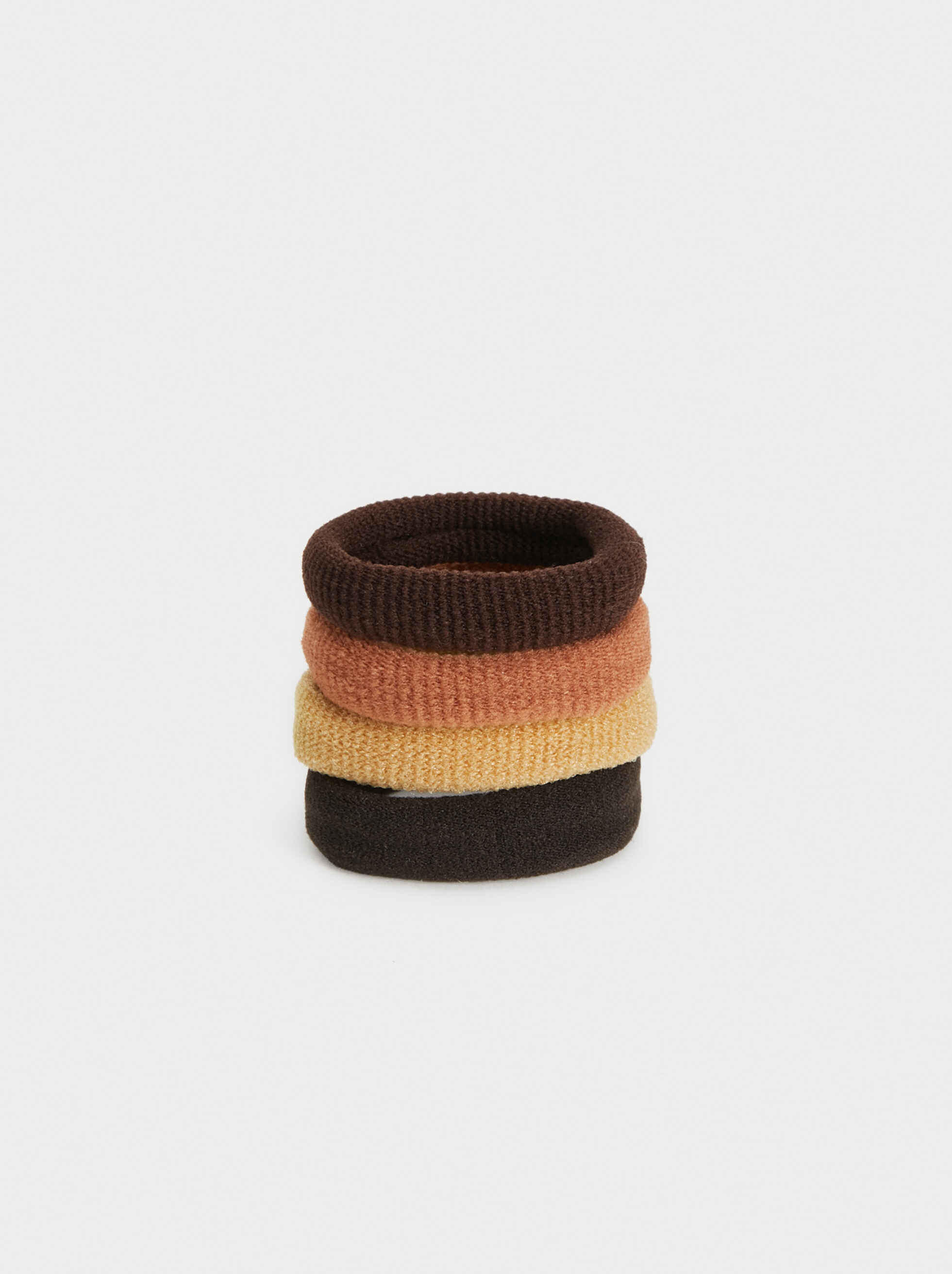 Basic Hair Tie Set, , hi-res