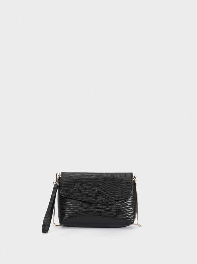 Monica Cross Bag, Black, hi-res