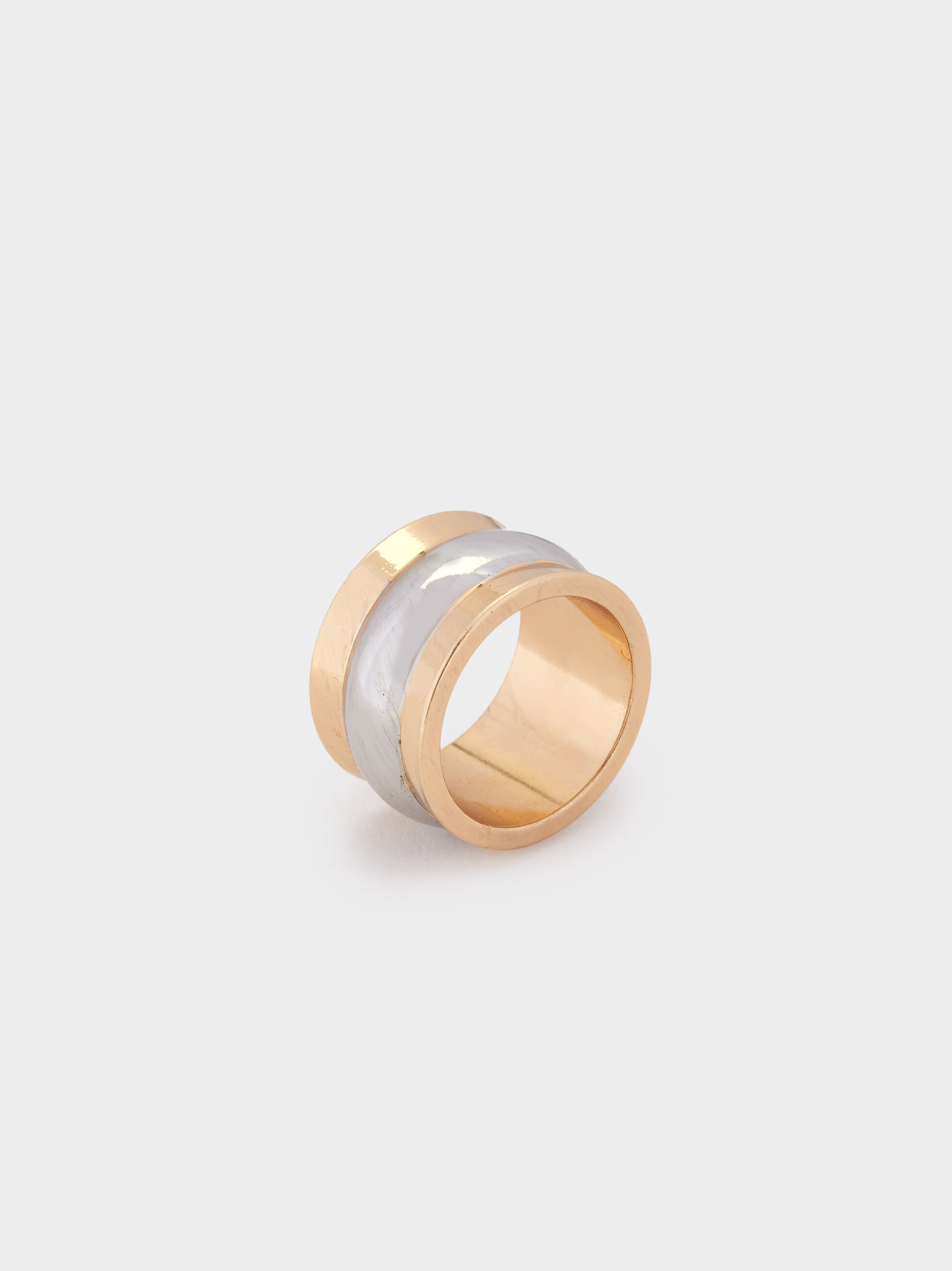 Blog Two-Tone Ring, Multicolor, hi-res