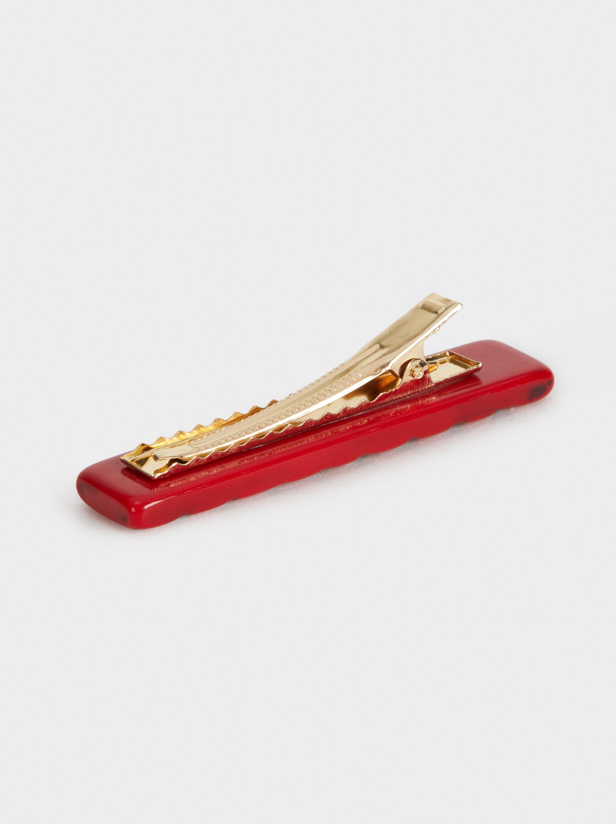 Hairslide, Red, hi-res