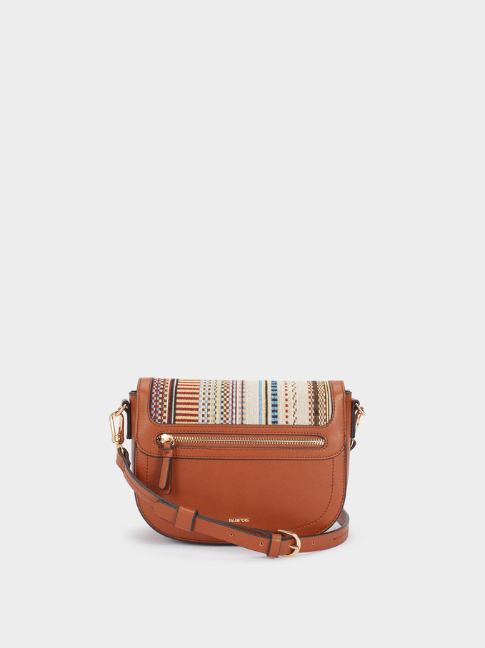 Lotus Cross Bag, Camel, hi-res