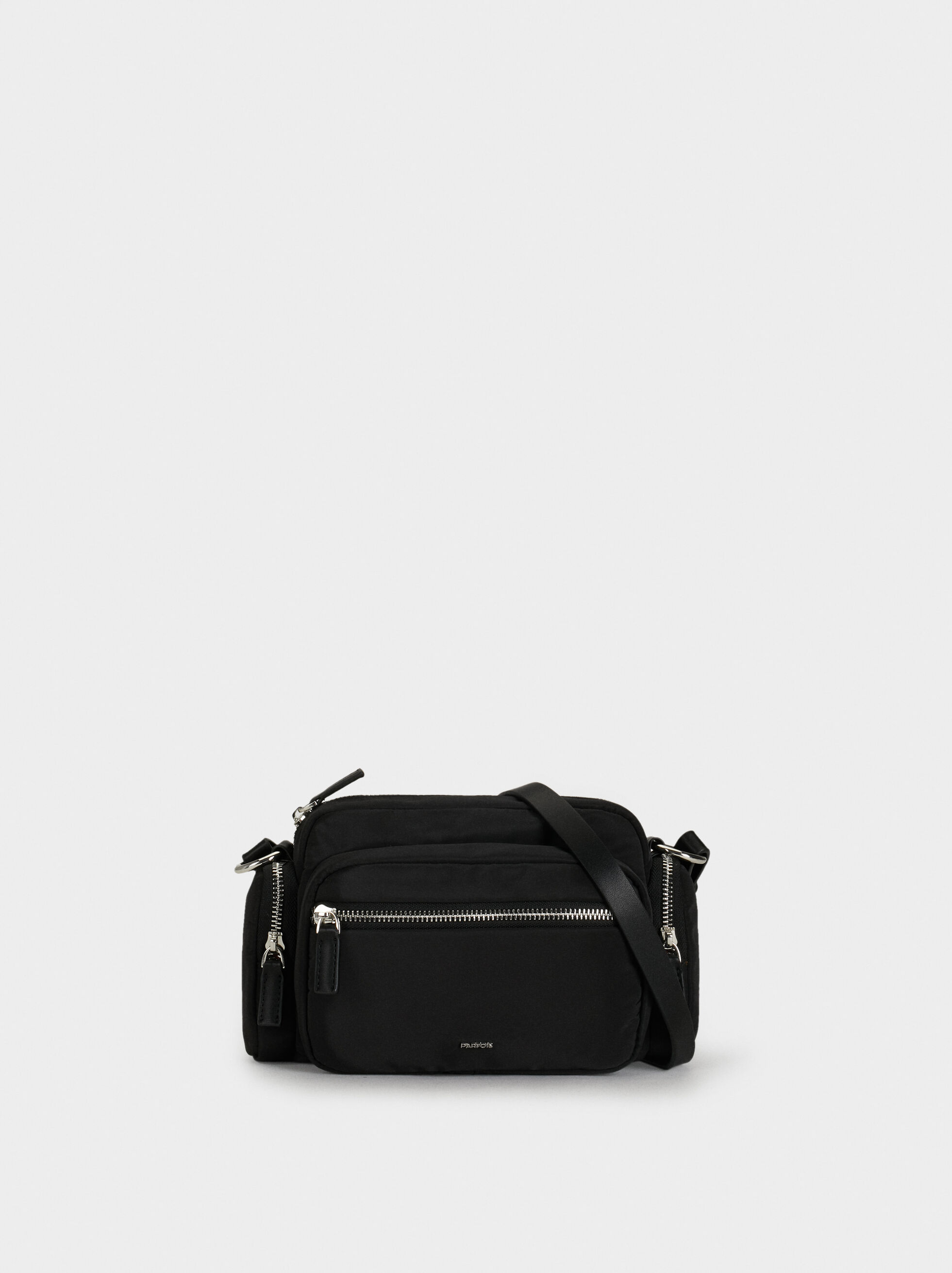 Crossbody Bag With Pockets And Zip, , hi-res