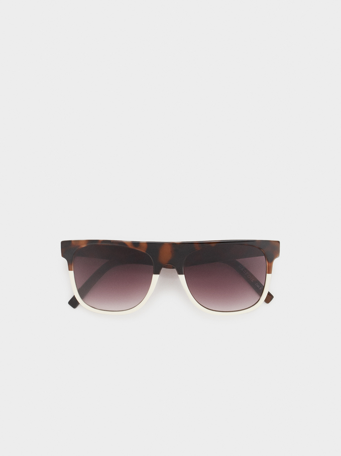 Lunettes Here And Now, Marron, hi-res
