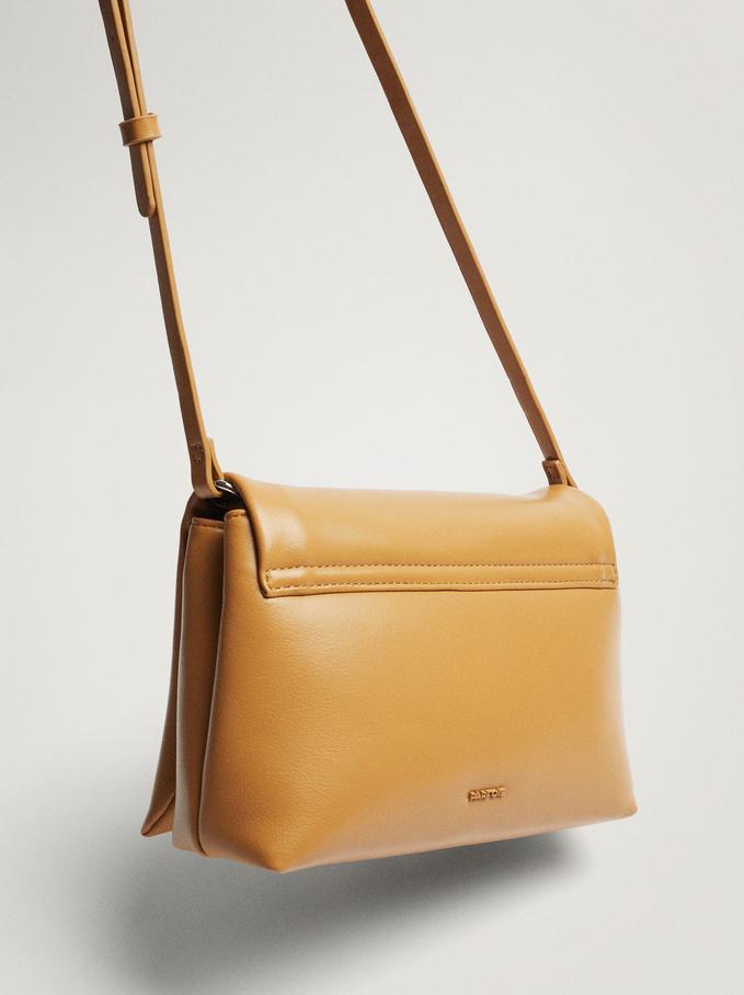 Handbag With Double Strap, Camel, hi-res