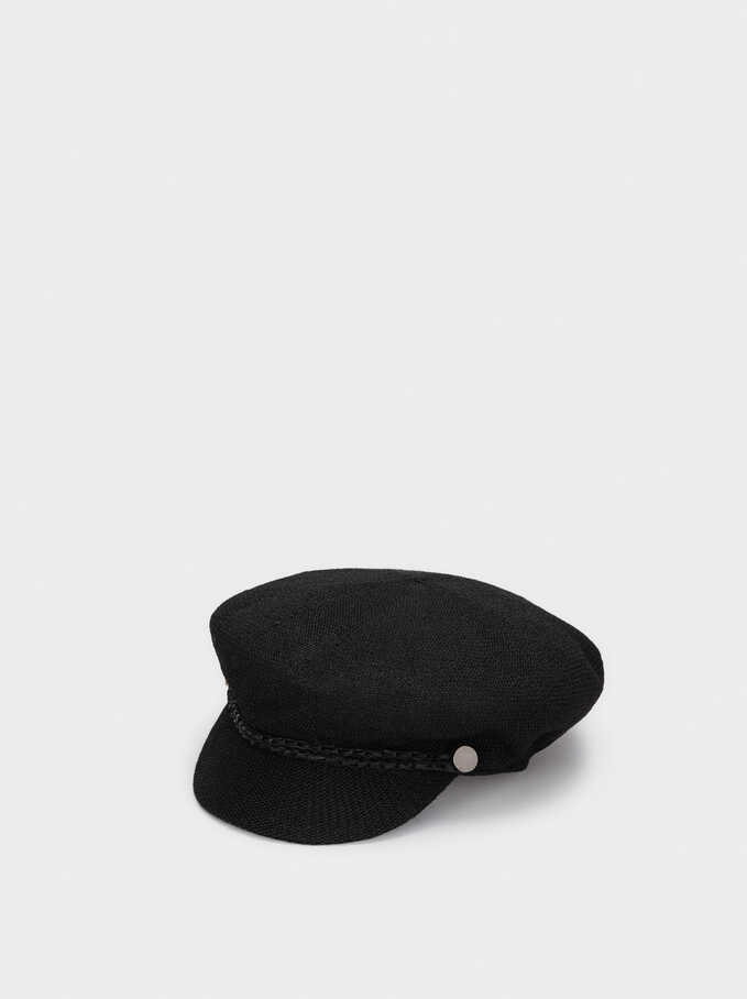 Knit Cap, Black, hi-res