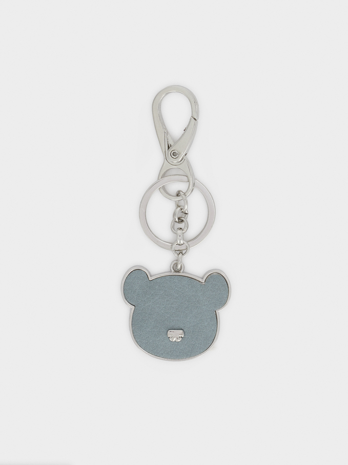 Bear Key Chain, Green, hi-res