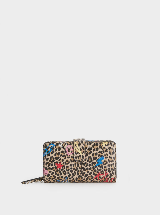 Thunder Wallet, Beige, hi-res