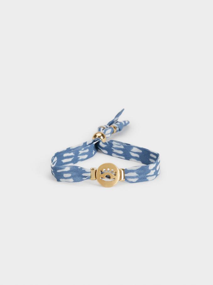 Deep Blue Bracelet, Blue, hi-res