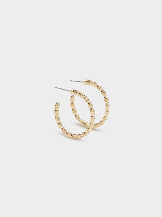 Hoop Fever Small Hoop Earrings , , hi-res