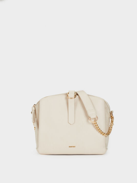Crossbody Bag With Chain Strap, , hi-res