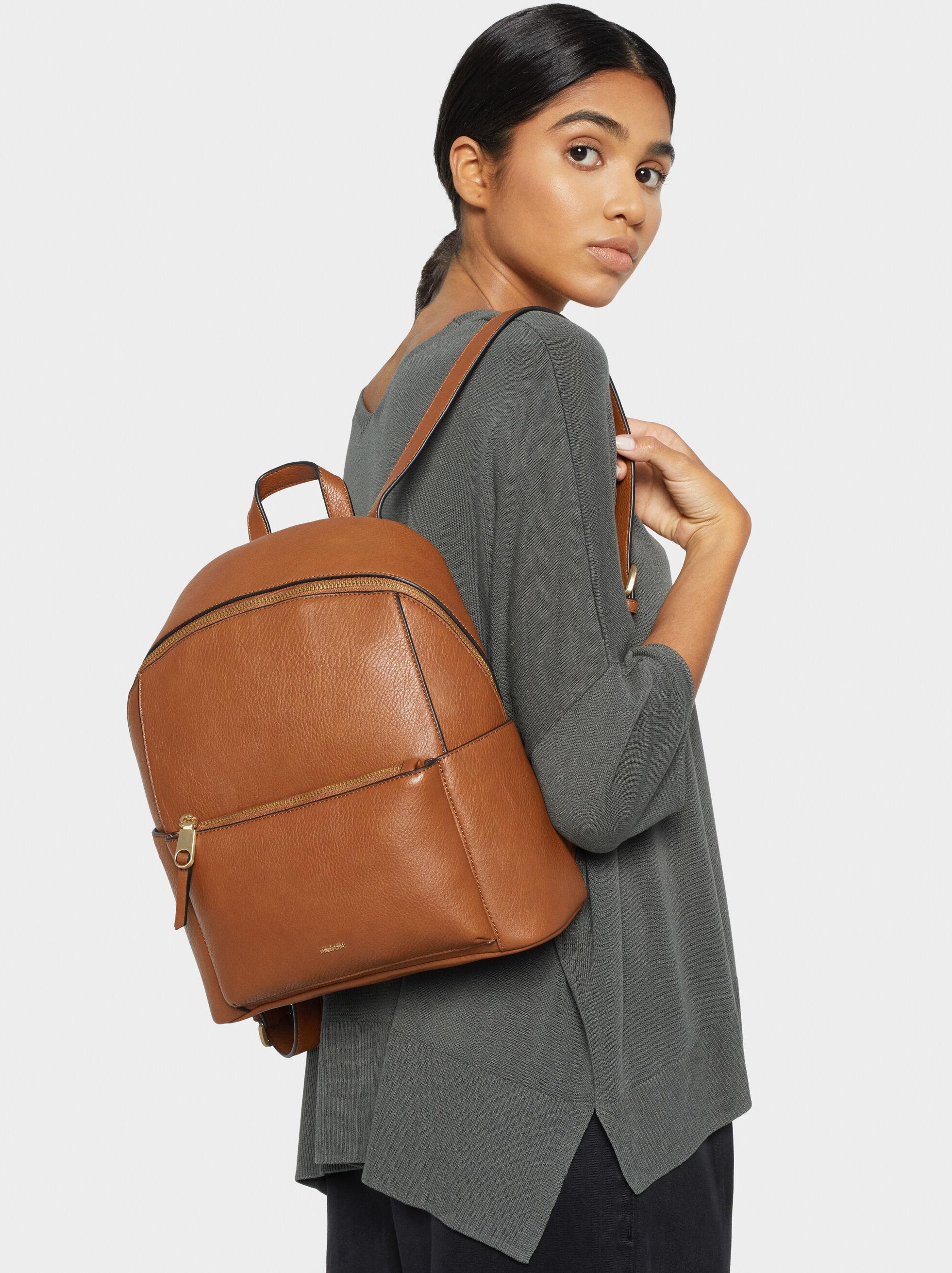Backpack With Outer Pocket, , hi-res