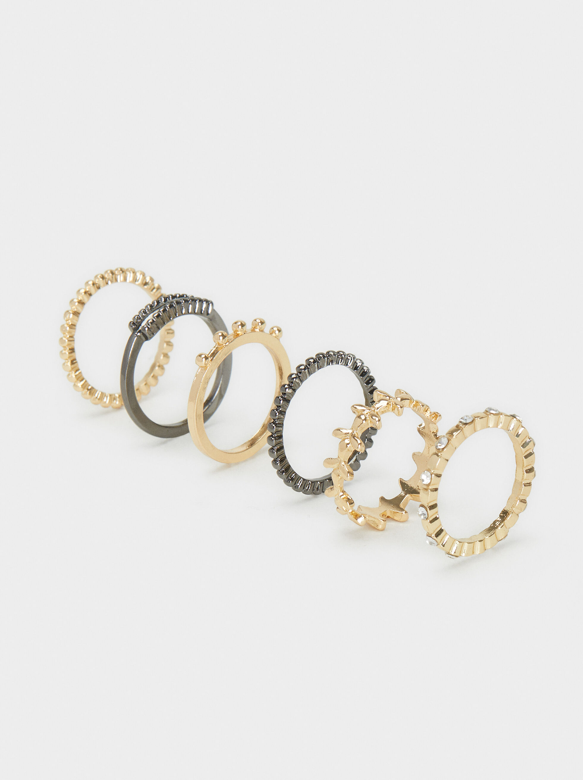 Set Of Basic Rings, , hi-res