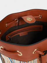 Lotus Bucket Handbag, Camel, hi-res