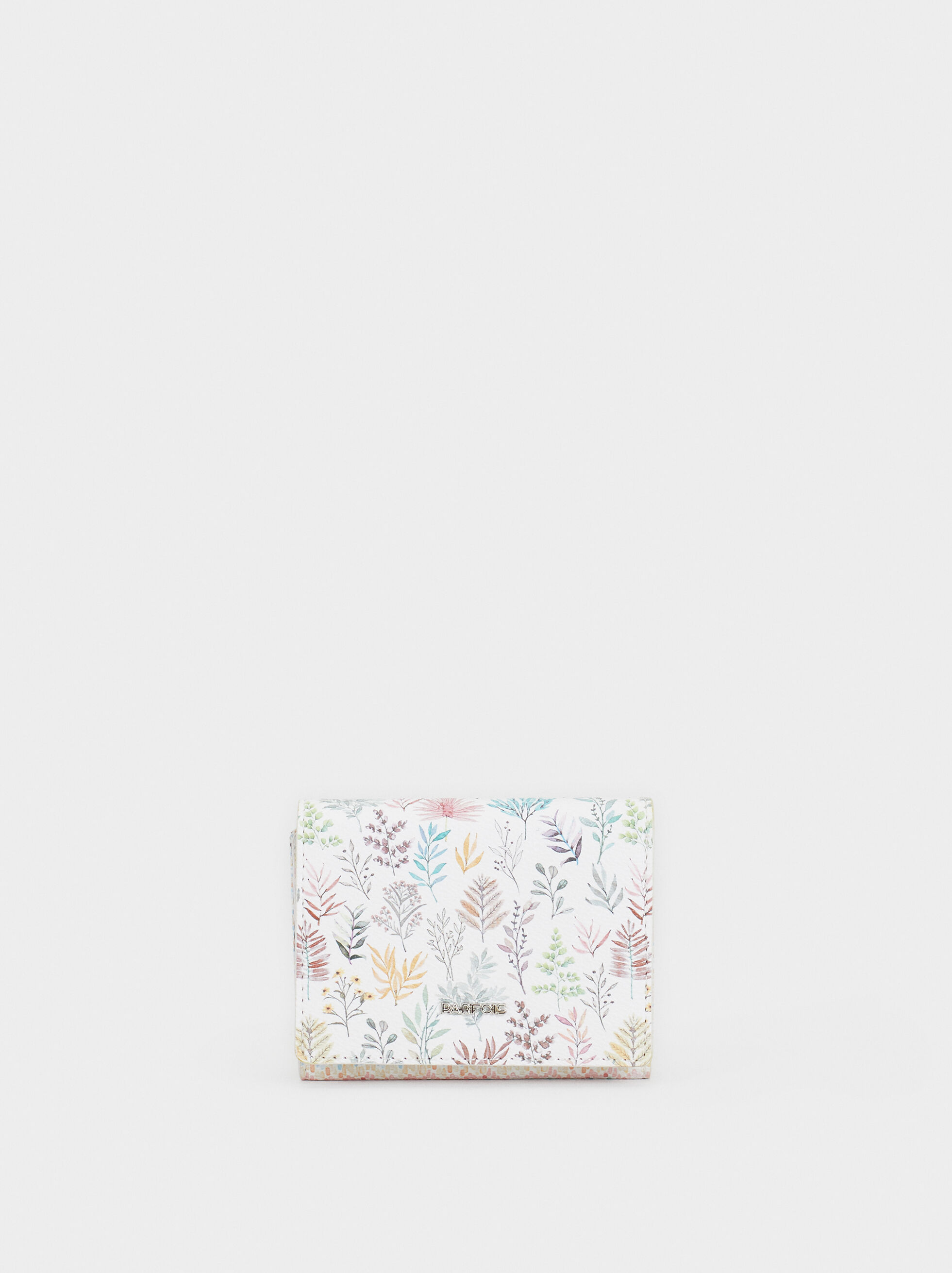 Floral Print Small Purse, Pink, hi-res