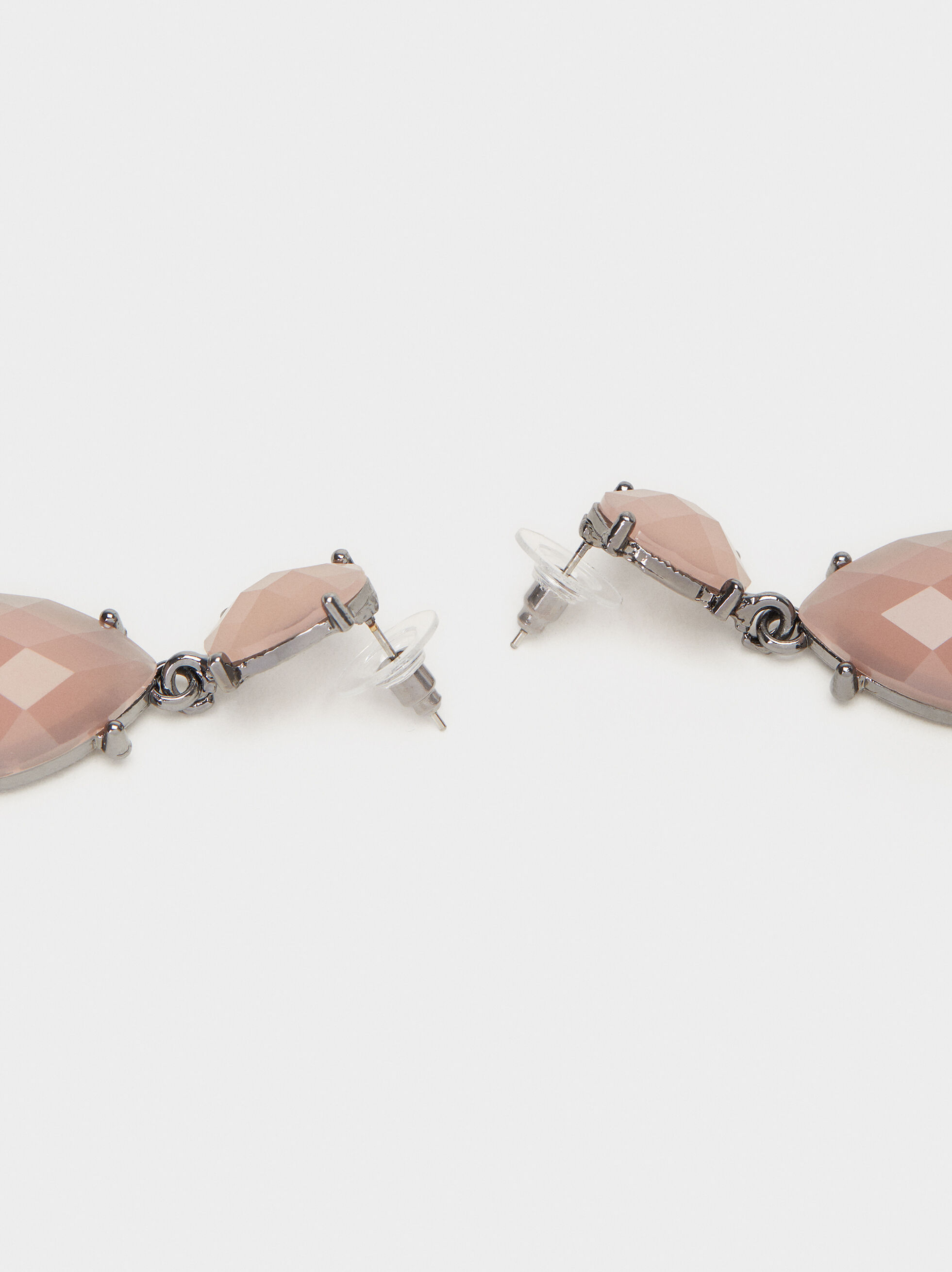 Cosmic Pink Medium Earrings, Pink, hi-res
