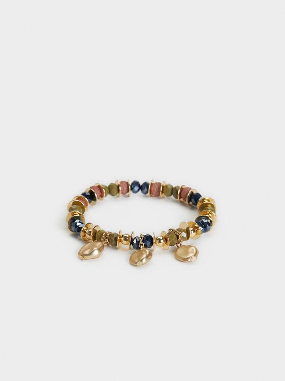 Savage Sparkle Elastic Bracelet, Multicolor, hi-res